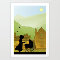 Childhood Dreams, The Pr… Art Print