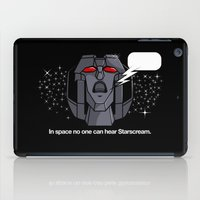 Space Scream iPad Case