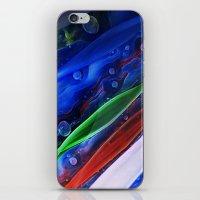 Abstract Glass Galaxy iPhone & iPod Skin