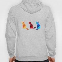 Color Block Cats Hoody