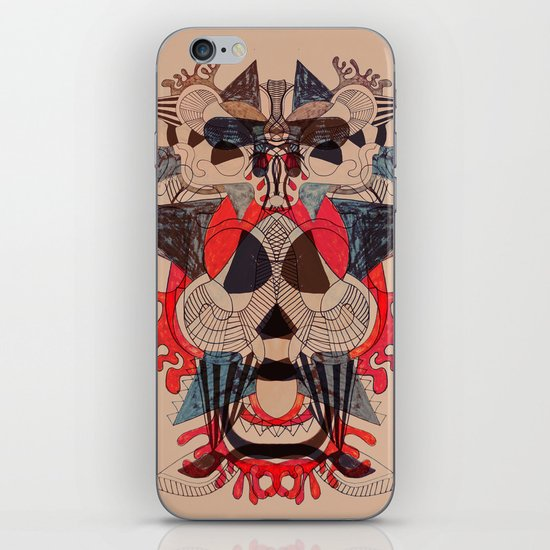 illustrated dreams iPhone & iPod Skin