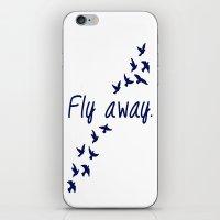 Fly Away. iPhone & iPod Skin