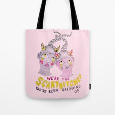 We're The Scary Bitches … Tote Bag