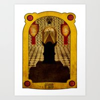 The Hall Of The Mountain… Art Print