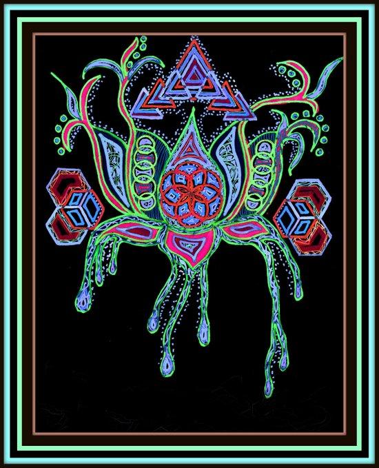 Lotus Life Art Print