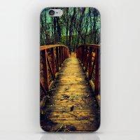 Cross The Bridge. iPhone & iPod Skin