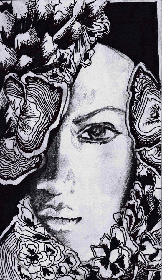 mushroom queen  Canvas Print