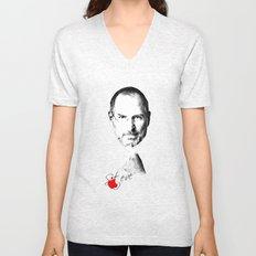 Steve Jobs Unisex V-Neck