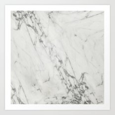 Real Marble II Art Print