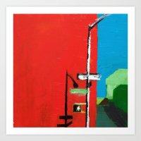 Barrow And Washington Li… Art Print