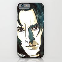 iPhone & iPod Case featuring Professer Snape by Boni Dutch