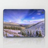 Winter Lands II iPad Case