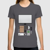 Awesome stuff. Womens Fitted Tee Asphalt SMALL
