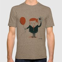 Hi! Mens Fitted Tee Tri-Coffee SMALL
