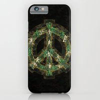 iPhone & iPod Case featuring Peace Keepers by Dolphin and Cow