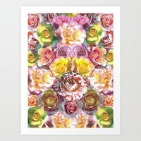Rose Bloom Art Print