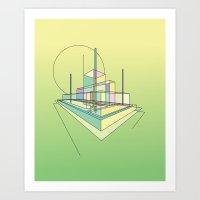 City Movements 02 Art Print