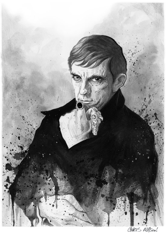 Barnabas Collins DARK SHADOWS Canvas Print