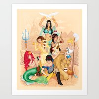 Sisters Are Doin' It For… Art Print