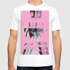 FPJ pretty in pink White Mens Fitted Tee SMALL