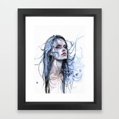 obstinate impasse Framed Art Print