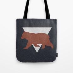 Bear & Bravery Tote Bag