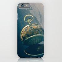 iPhone & iPod Case featuring Clock 2 by Luca Finardi