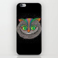 Alice in wonderland art fan by Luna Portnoi iPhone & iPod Skin