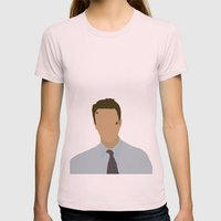 Edward Norton Fight Club Womens Fitted Tee Light Pink SMALL
