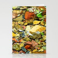 A Colorful Creek, Glacie… Stationery Cards