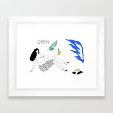 Heatwave Framed Art Print