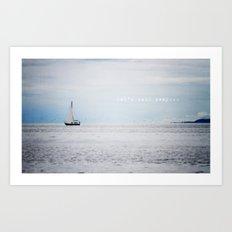Let's Sail Away Art Print
