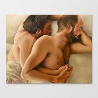 Origin of Love #3 Canvas Print