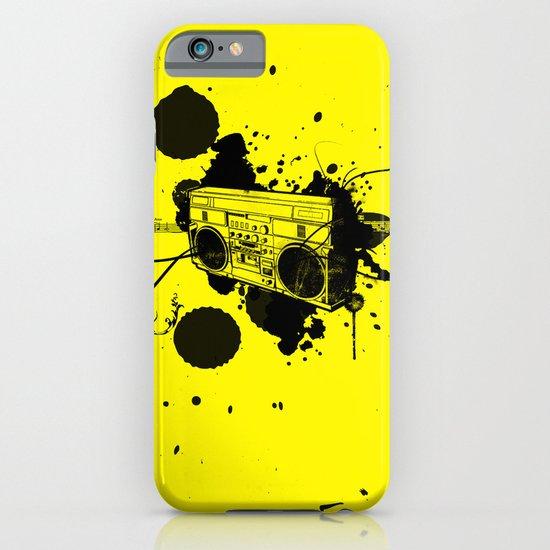 Vintage Boombox  iPhone & iPod Case