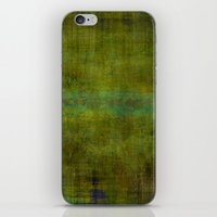 Green Burrows ~ Abstract iPhone & iPod Skin
