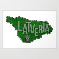 Latveria Art Print