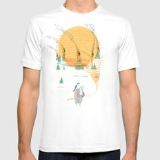 Beach House - Norway Mens Fitted Tee SMALL White