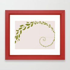 Sweaty Leaves Framed Art Print