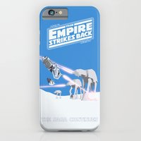 iPhone Cases featuring THE EMPIRE STRIKES BACK  by Kaitlin Smith