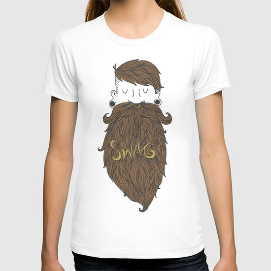 Beard Swag (Highlights) T-shirt