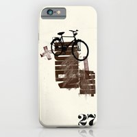 iPhone & iPod Case featuring The Here 27/ Das Hier 27 by Paul Prinzip