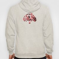 Red leaves Hoody