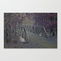 Just a Bridge Canvas Print