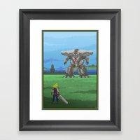 Pixel Art Series 13 : Th… Framed Art Print