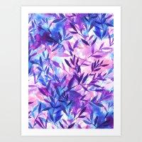 Changes Purple Art Print