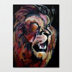 Friendly Lion Canvas Print