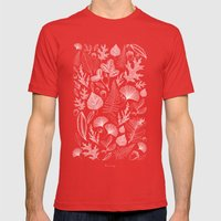 Study Of Growth Mens Fitted Tee Red SMALL