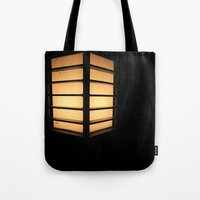 Asian Lamp in the night Tote Bag