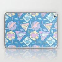 Nineties Dinosaurs Pattern  - Pastel version Laptop & iPad Skin