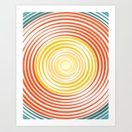 Art Print featuring GET BY by Chrisb Marquez